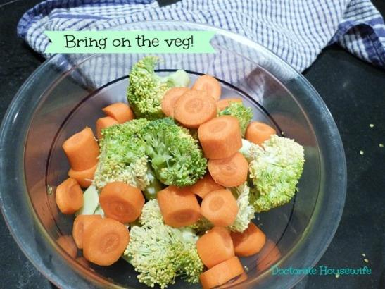 veg prepped
