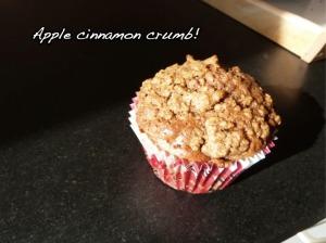 Apple Cinnamon Crumb Muffins