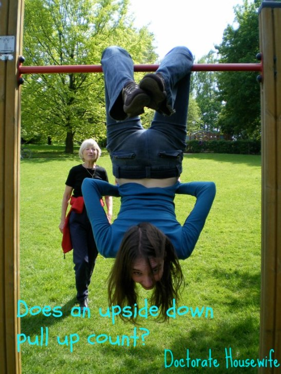 upside down pull up
