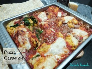 Pumpkin Pizza Casserole