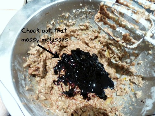 messy molasses