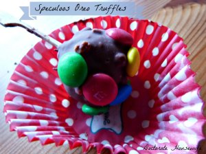 Speculoos Oreo Truffles