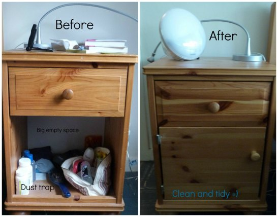bedside tables b&a