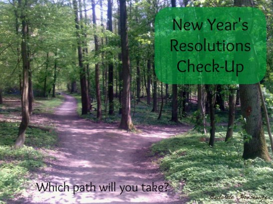 New Year's Resolution Check-Up