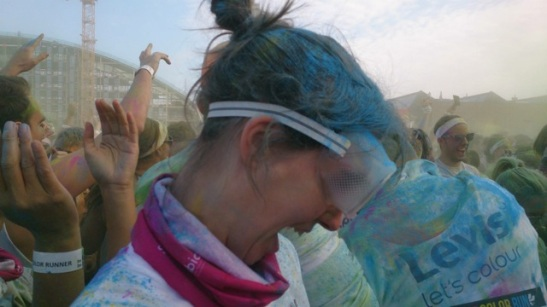 color run color blast