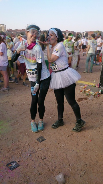 color run fooling around