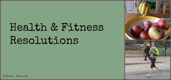 Health and Fitness resolutions