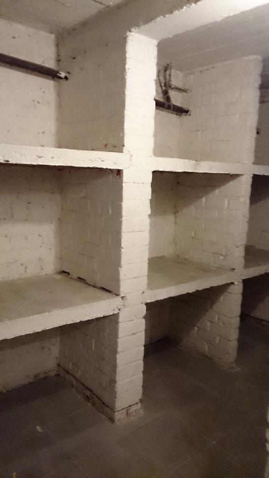 empty wine cellar