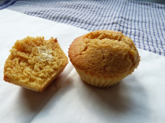 honey corn muffins ready to eat
